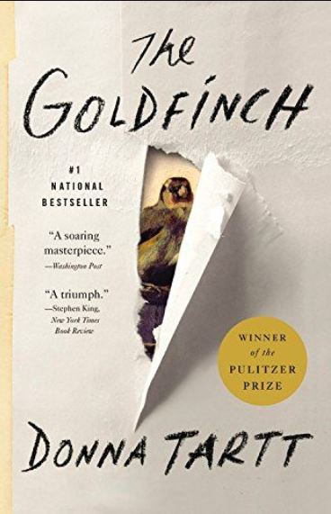 The Goldfinch,The Goldfinch novel